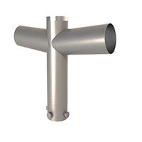 SIP – Suportes Tubulares para Luminárias de 1,2,3 e 4 Pétalas